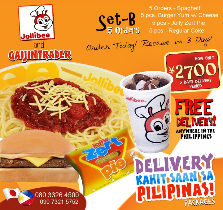 Delivery Anywhere In The Philippines Jollibee